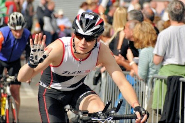 Ironman competition in Wales
