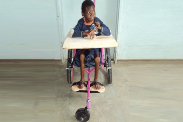 Wheelchairs get children to school